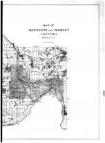Hennepin and Ramsey Counties Map - Right, Hennepin and Ramsey Counties 1898